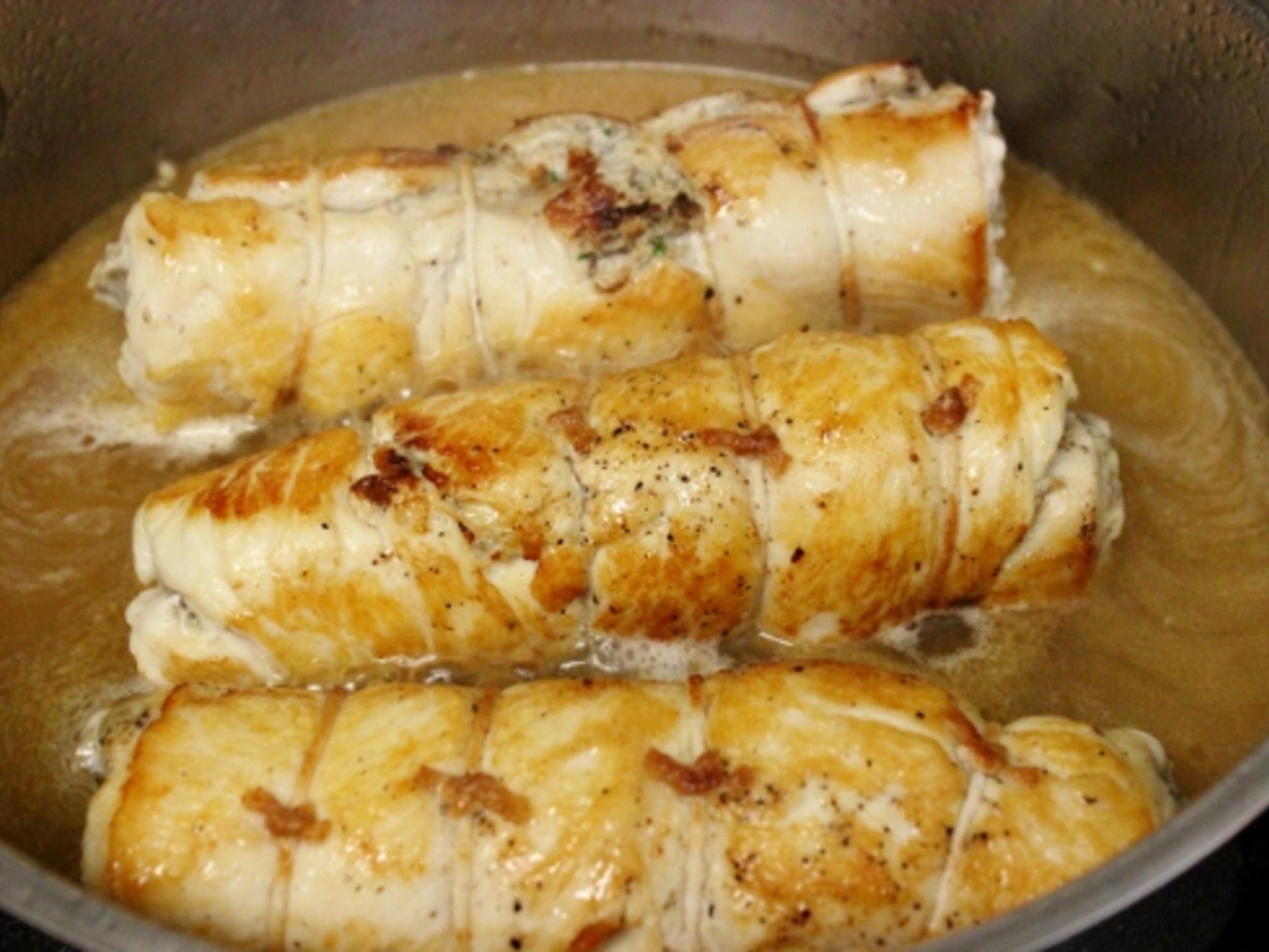 Пошаговый фото рецепт фаршированной куриной грудки