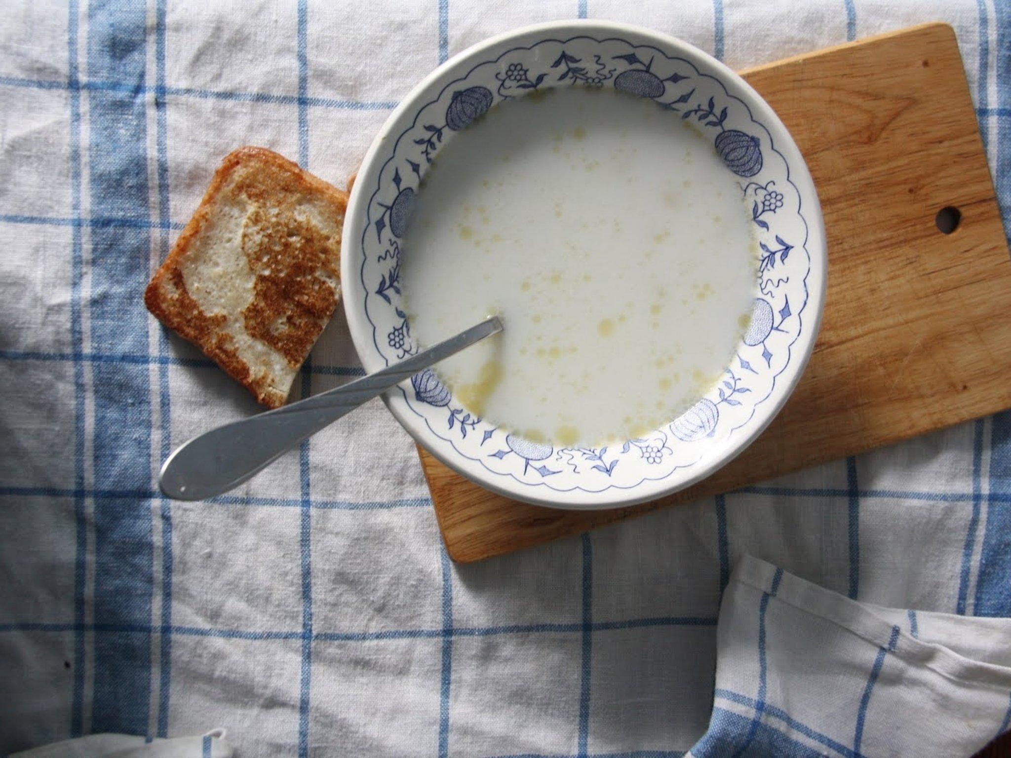 Рецепты супов из молока пошагово