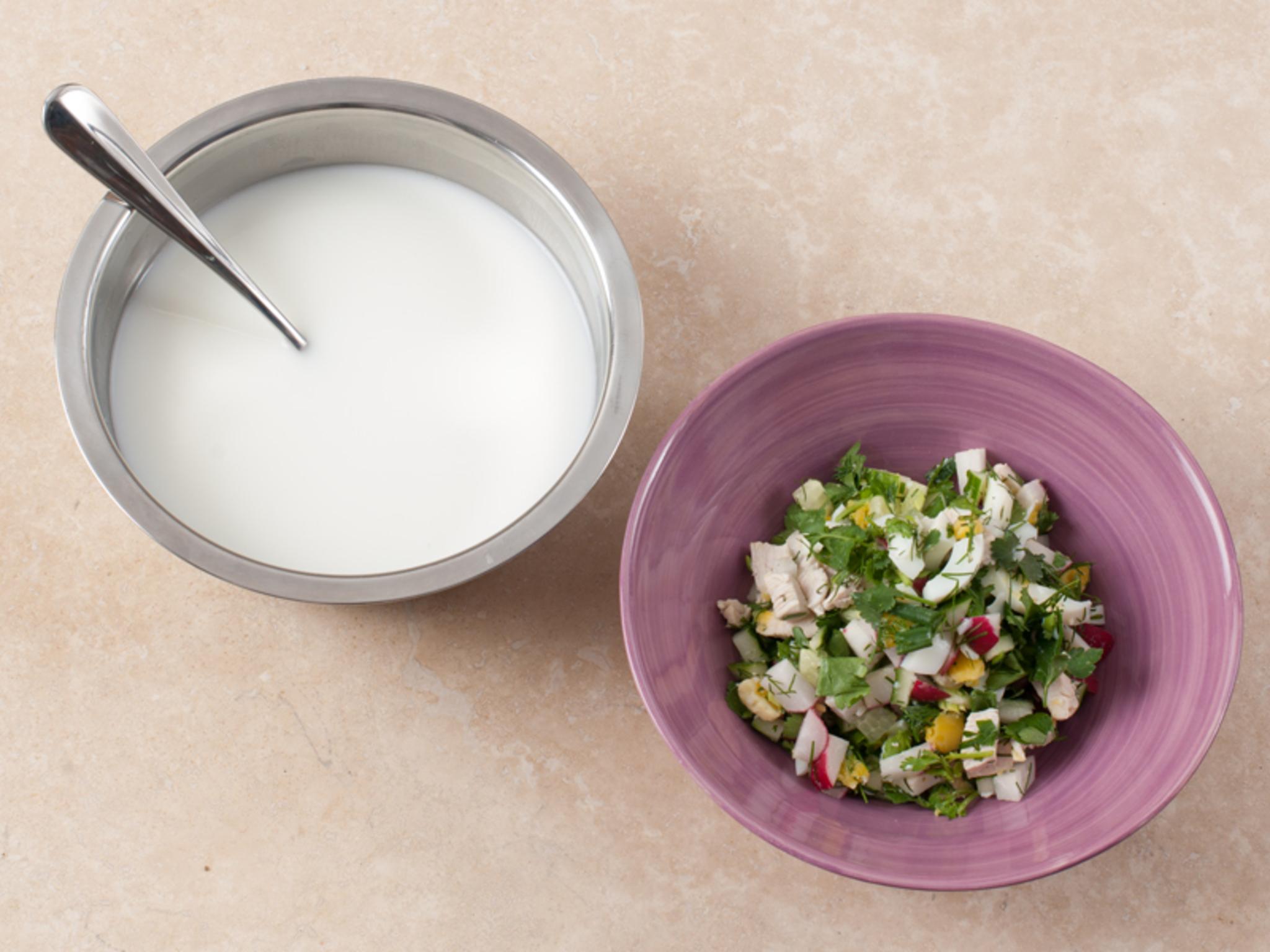 Как приготовить окрошку в домашних условиях рецепт