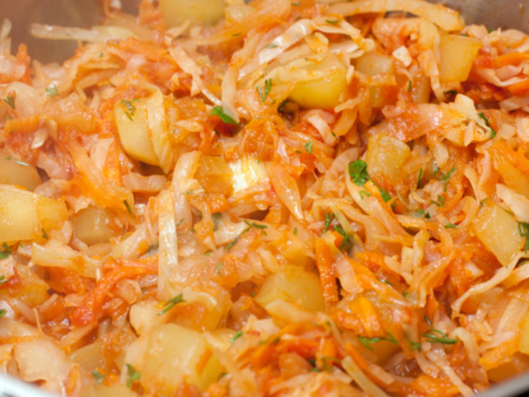 Рагу из кабачков и картошки и капусты рецепт очень вкусный