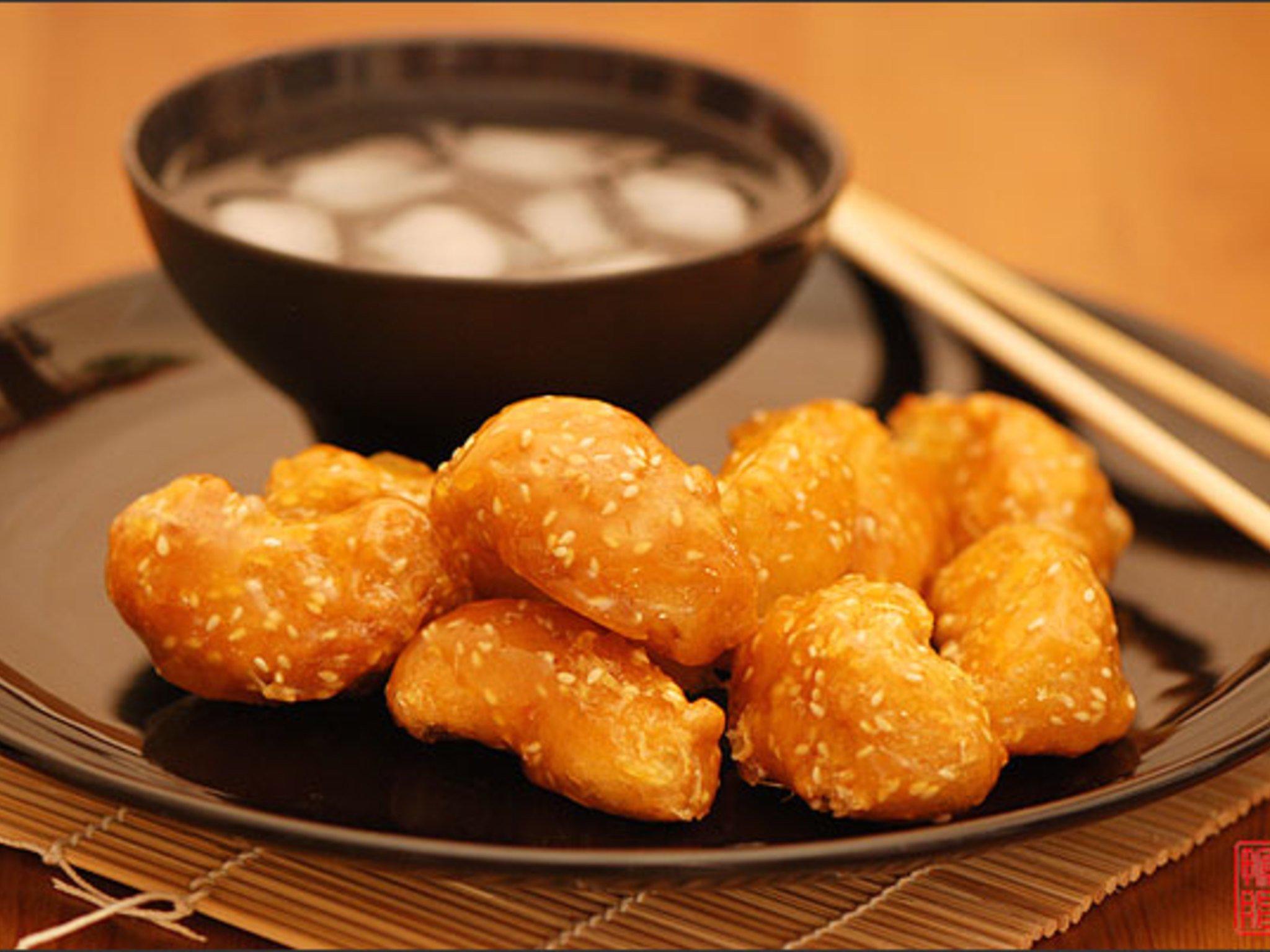 Фрукты в карамели по-китайски рецепт с фото пошагово