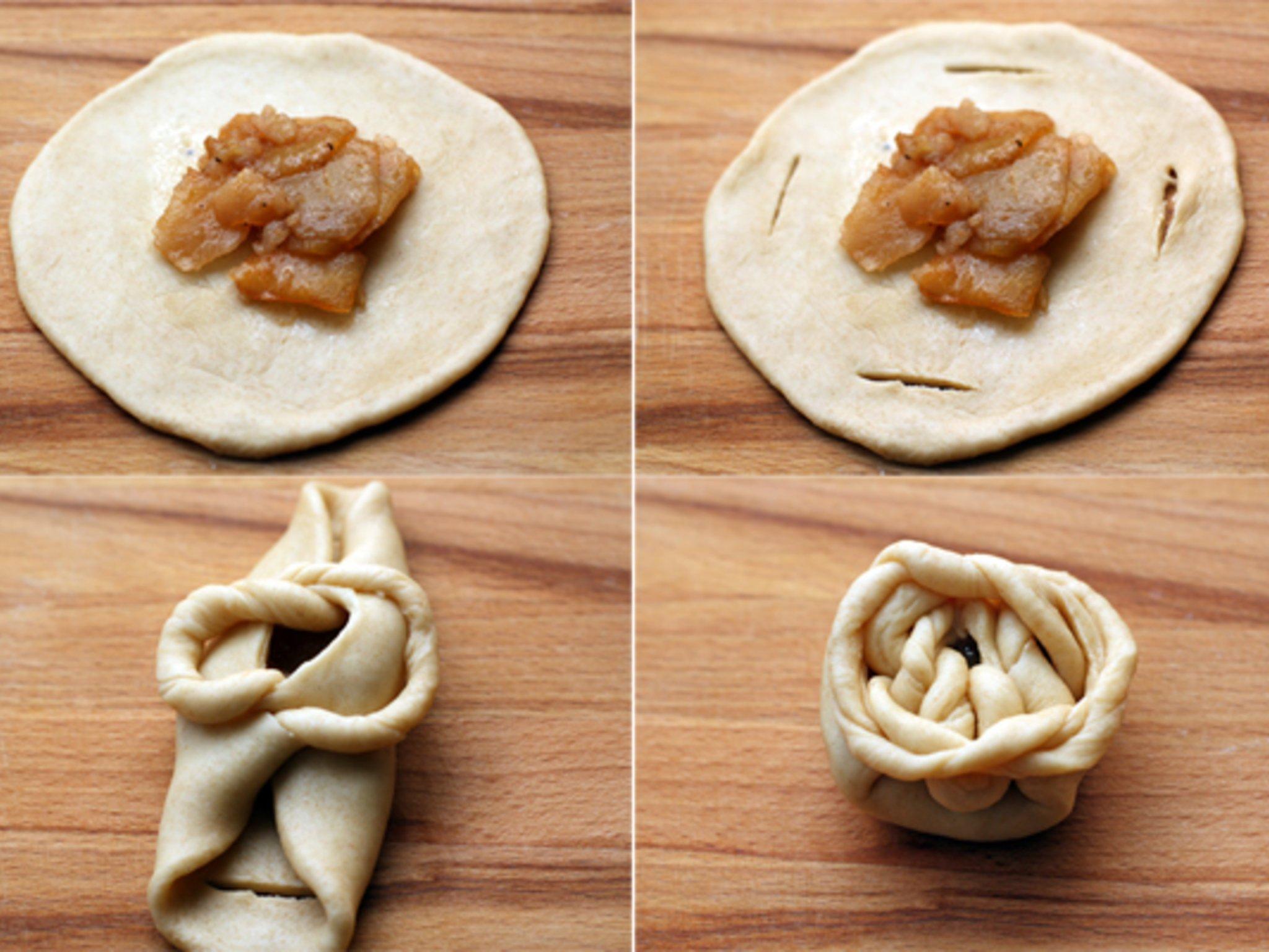 Как сделать разные формы булочек