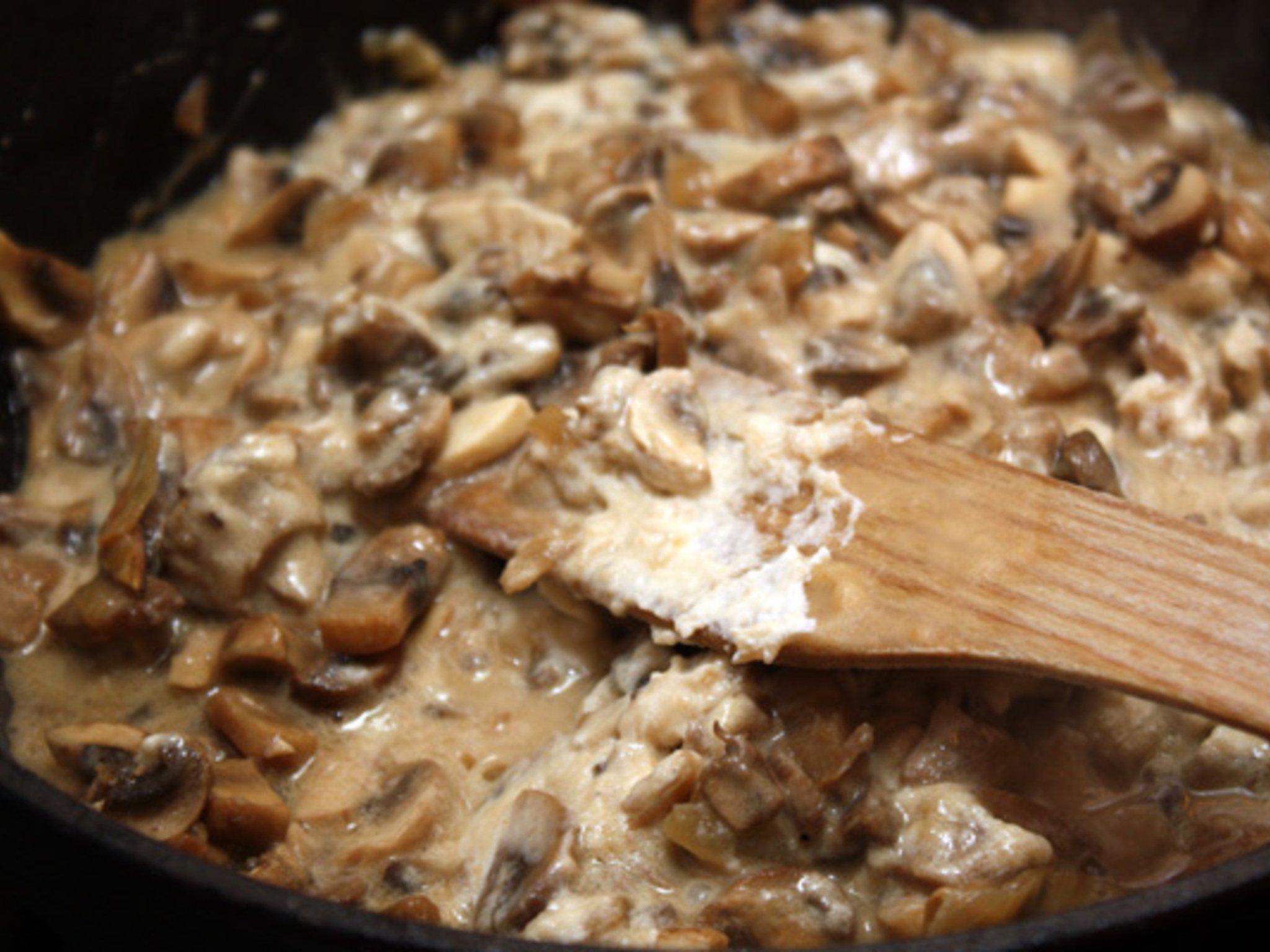 Подливка из сушеных грибов рецепт с фото