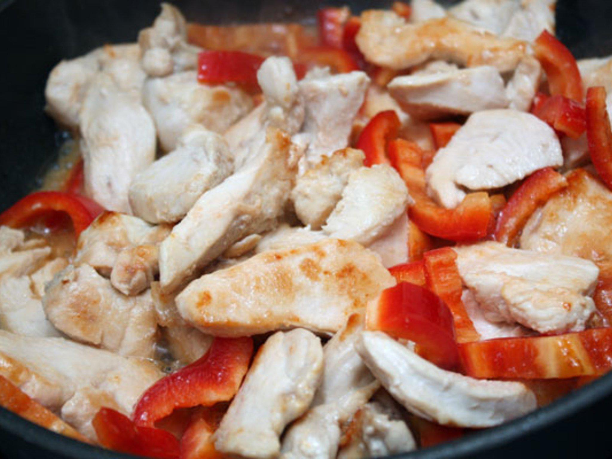 Куриная грудка с перцем рецепты