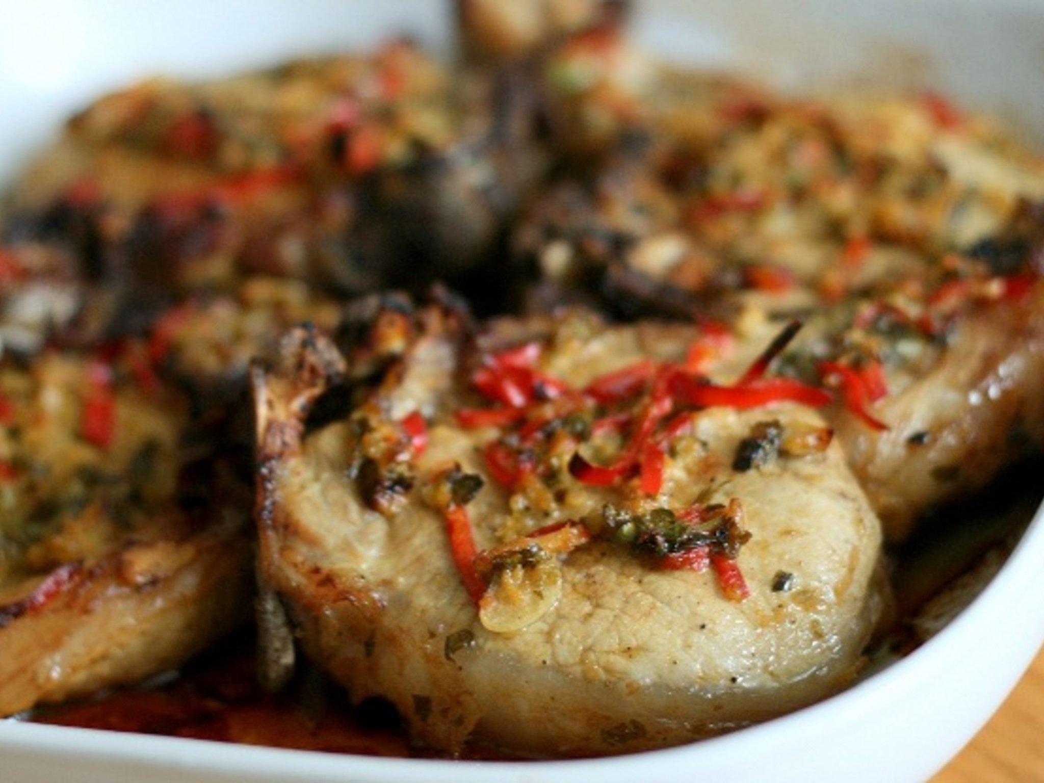 отбивные из свинины в маринаде рецепт с фото