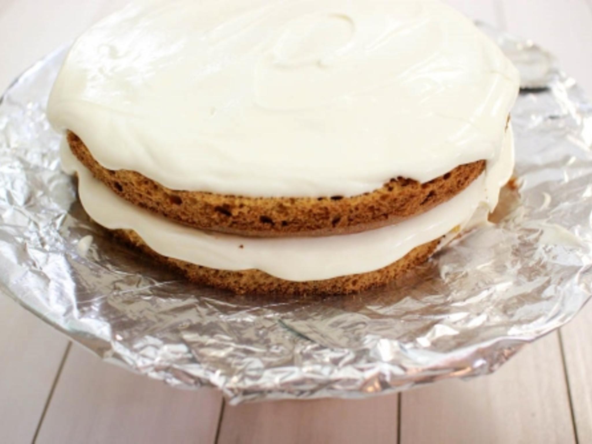 Торт на сгущенке с кремом из сметаны