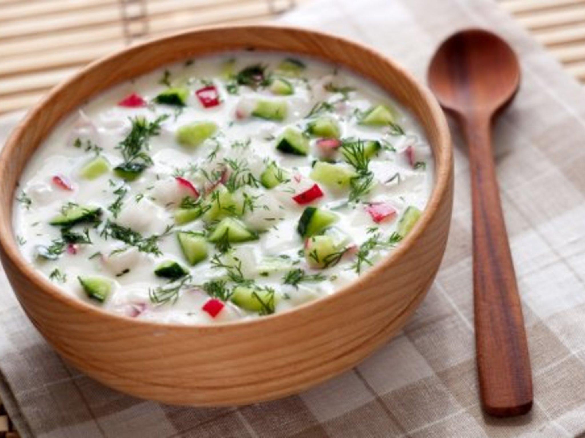 Холодные супы рецепты в картинках