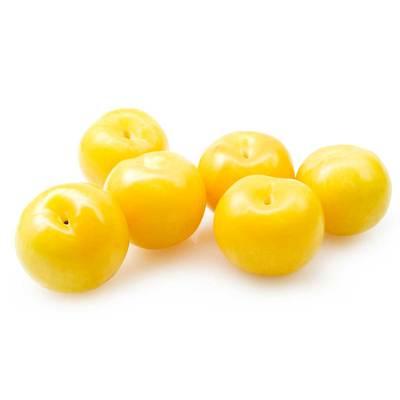 Желтая слива