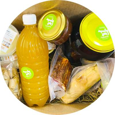 Коробка фермерских продуктов №2