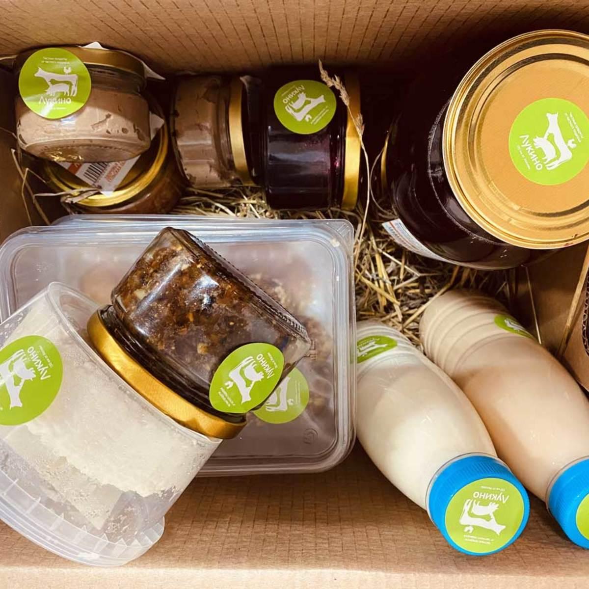 Коробка фермерских продуктов №1