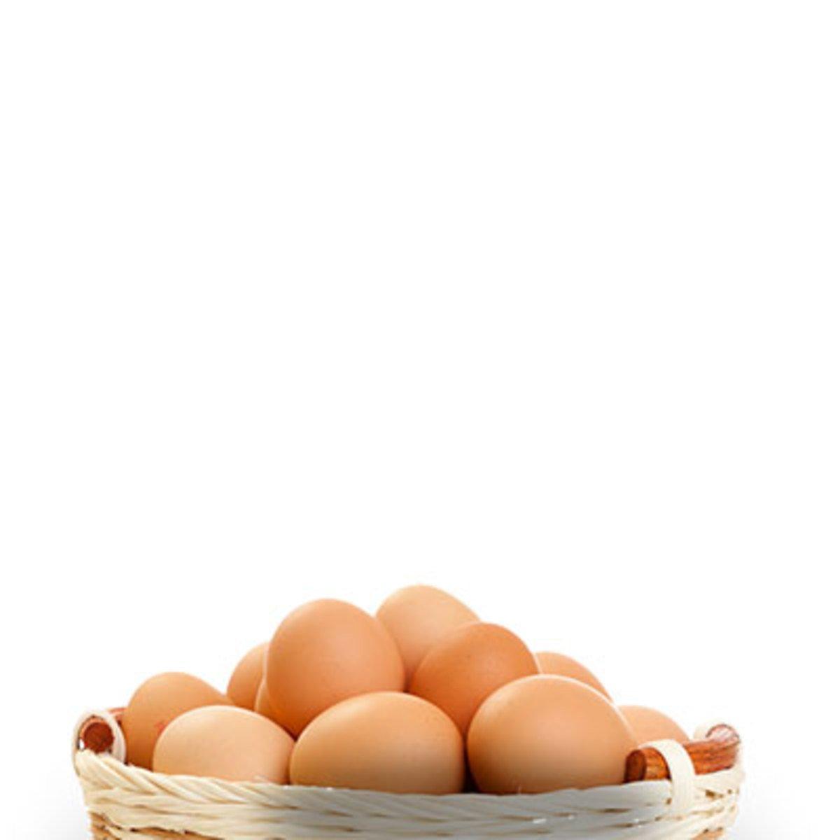 Куриные яйца от молодых несушек