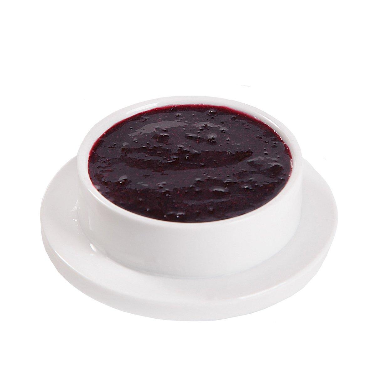 Черная смородина с сахаром