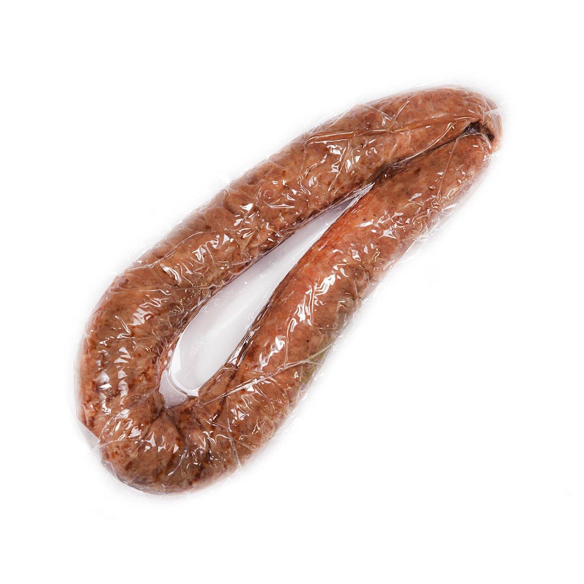 Домашняя копченая колбаса