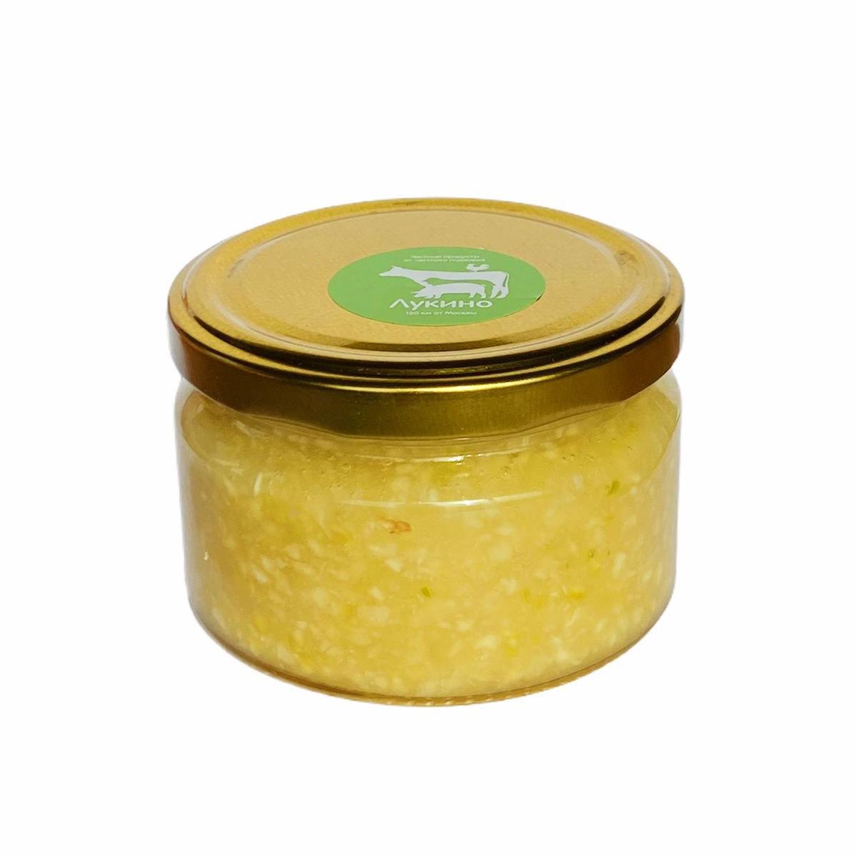 Лимонно-медовая смесь с чесноком
