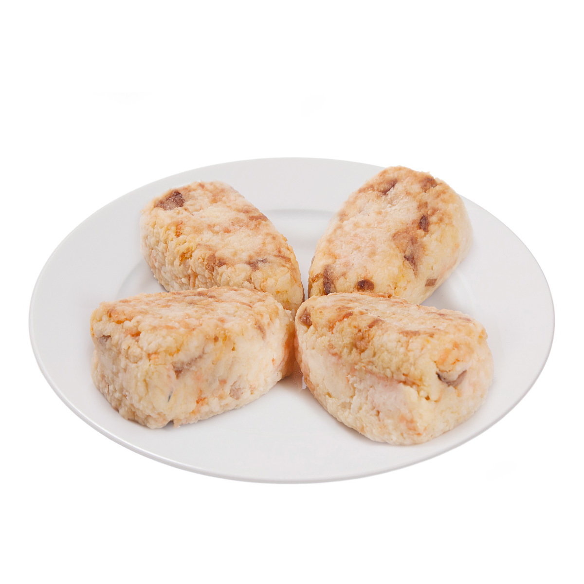 Постные рисово-картофельные котлетки