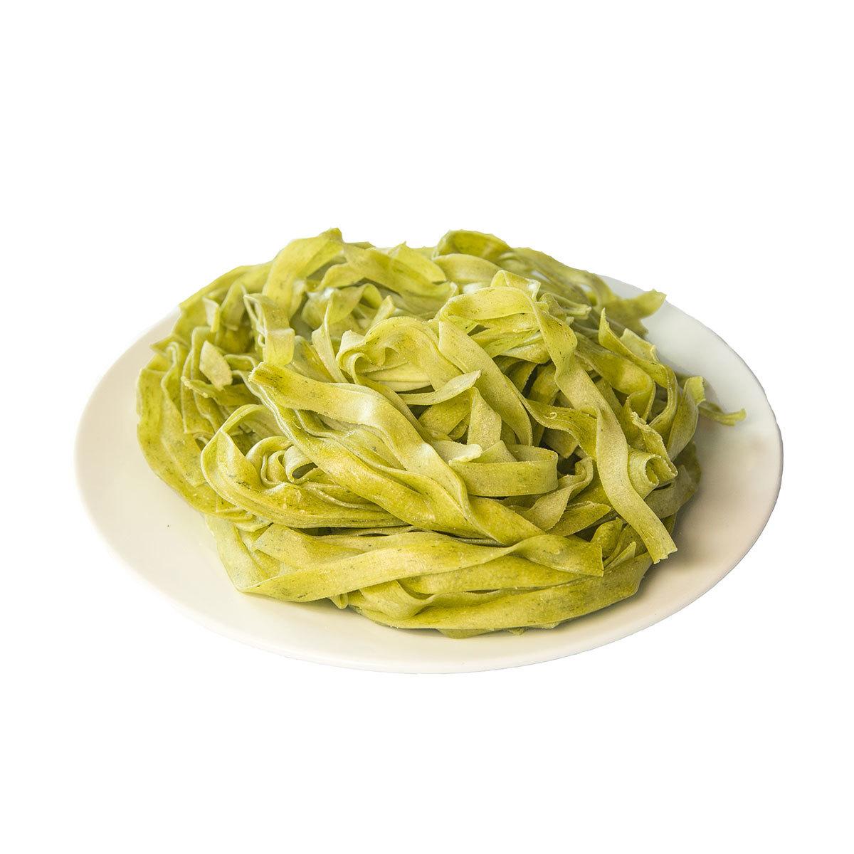 Тальятелле со шпинатом