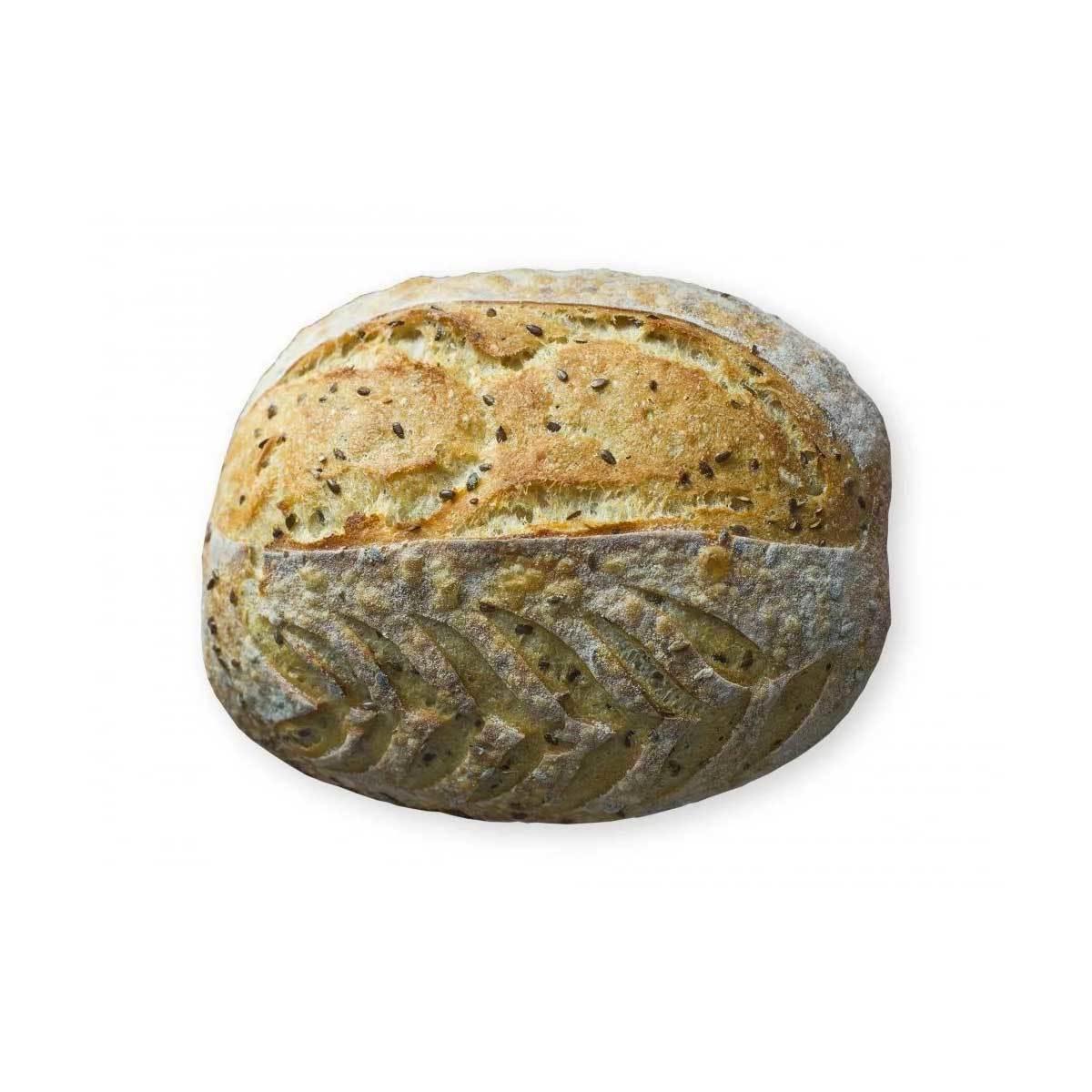 Цельнозерновой хлеб со льном