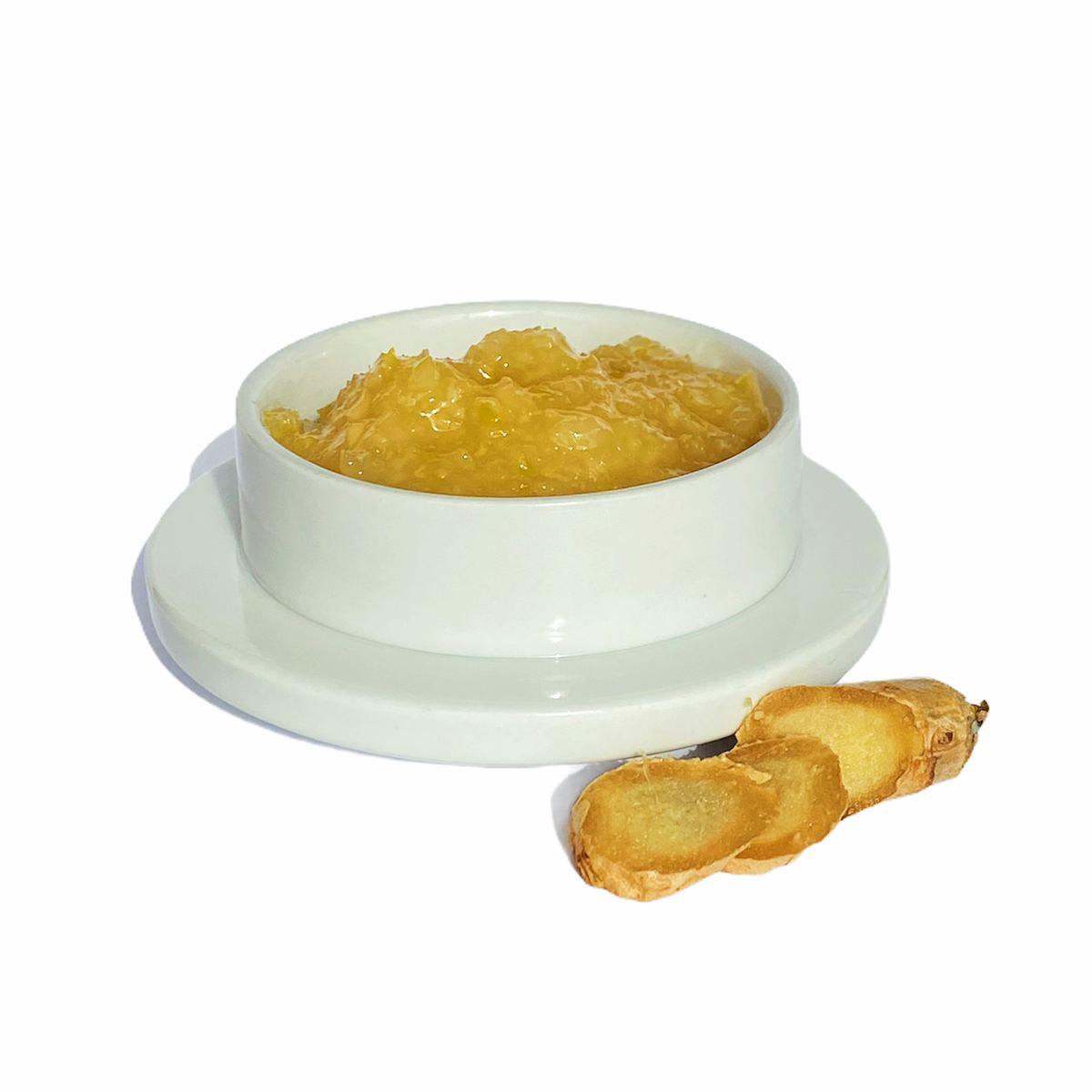 Имбирная паста с лимоном и медом