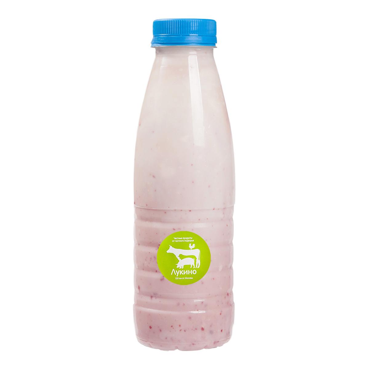 Малиновый йогурт