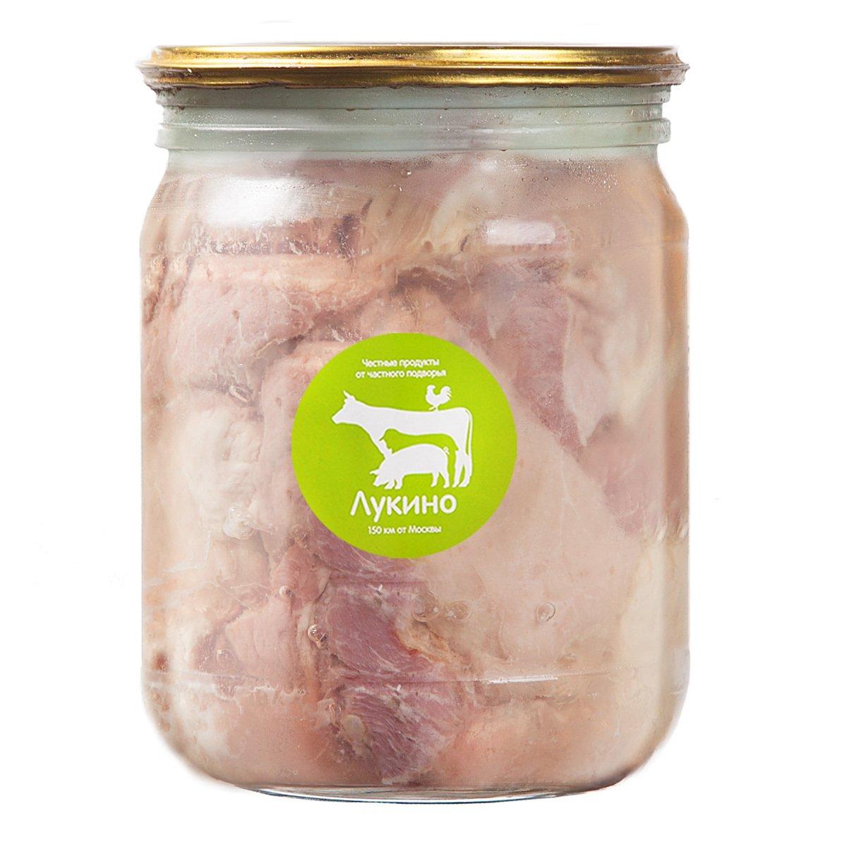 Свино-говяжья тушенка